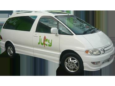 Jucy Campervan Rental Cairns