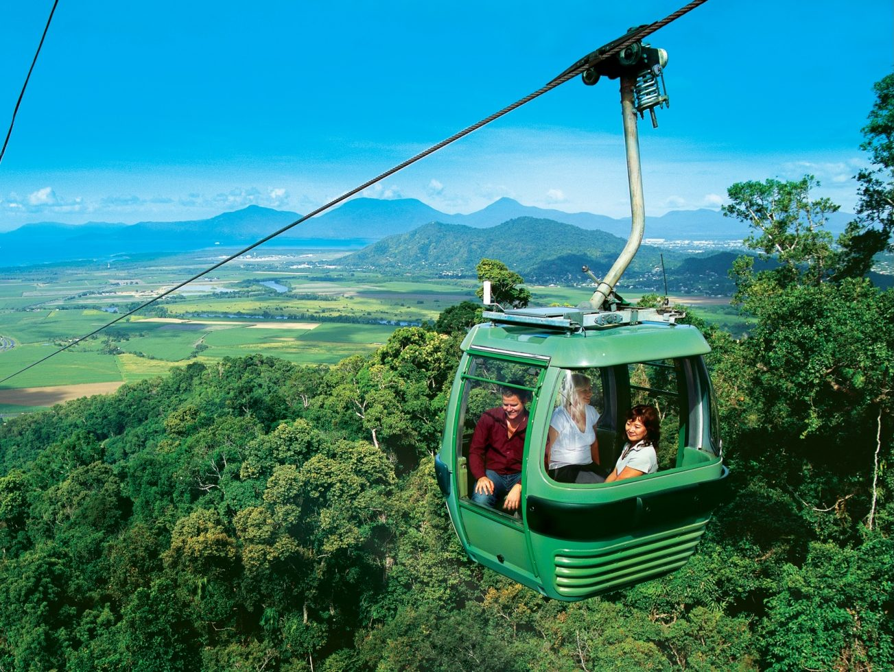 Cairns skyrail scenic cableway