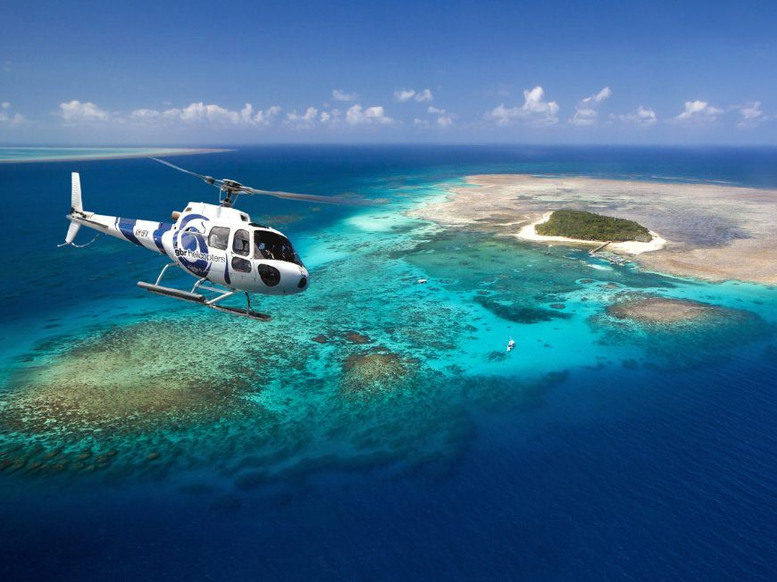 Barrier Reef Scenic Flights